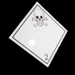 Etichete ADR suport aluminiu nr.2.3