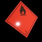 Etichete ADR suport aluminiu nr.3n