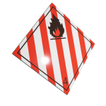 Etichete ADR suport aluminiu nr.4.1