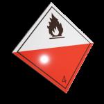 Etichete ADR suport aluminiu nr.4.2