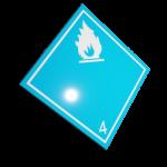 Etichete ADR suport aluminiu nr.4.3a