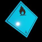 Etichete ADR suport aluminiu nr.4.3n