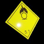Etichete ADR suport aluminiu nr.5.1