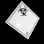 Etichete ADR suport aluminiu nr.6.2