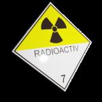 Etichete ADR suport aluminiu nr.7d