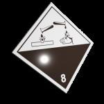 Etichete ADR suport aluminiu nr.8