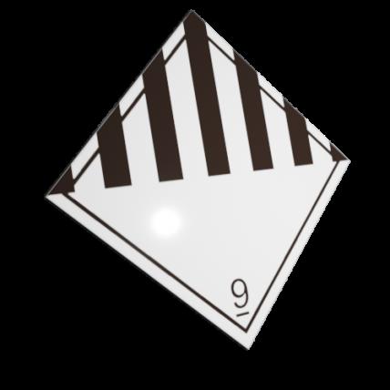 Etichete ADR suport aluminiu nr.9