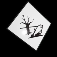 Etichete ADR suport aluminiu mediu