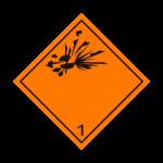 Eticheta ADR autocolanta nr.1