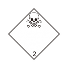Eticheta ADR autocolanta nr.2.3