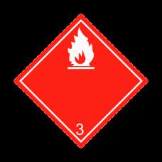 Eticheta ADR autocolanta nr.3a