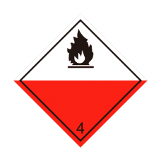 Eticheta ADR autocolanta nr.4.2