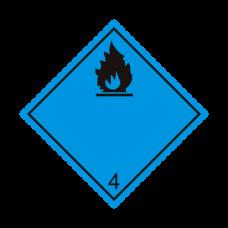 Eticheta ADR autocolanta nr.4.3n