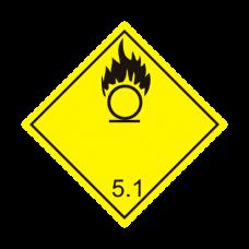 Eticheta ADR autocolanta nr.5.1