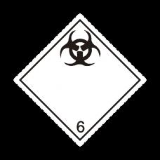 Eticheta ADR autocolanta nr.6.2