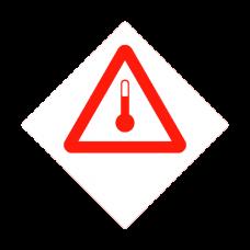 Eticheta ADR autocolanta termometru
