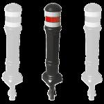 Stâlp ornamental pentru delimitarea accesului pietonal