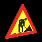 Indicatoare Rutiere Lucrari (7)