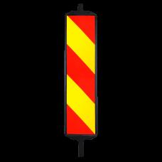 Baliza directionala stanga/dreapta 1000 x 250 mm, clasa 1, dubla fata, plastic - pentru drumuri comunale si judetene