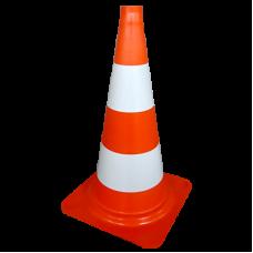 Con portocaliu-reflectorizant flexibil h= 760 mm