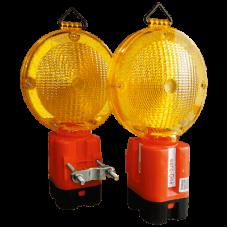 Lampa de semnalizare cu lumina intermitenta si sursa proprie 4R25 6V